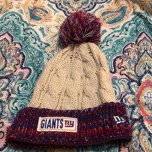 New Era NY Giants Beanie Knit